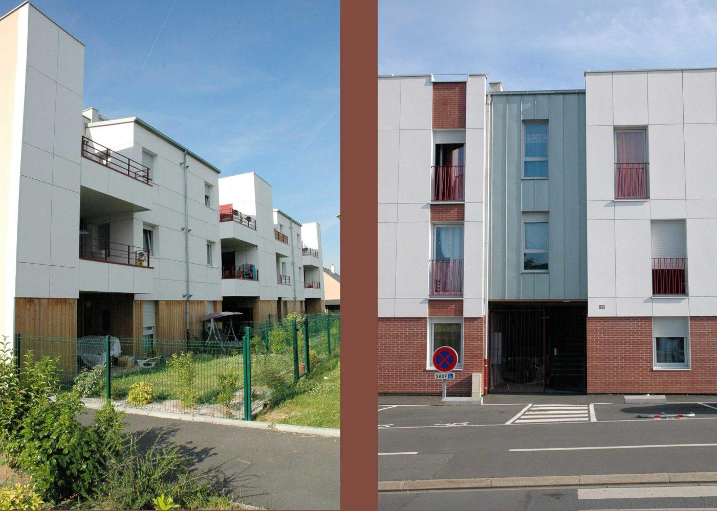 Logements semi-collectifs - résidence Jean Ferrat